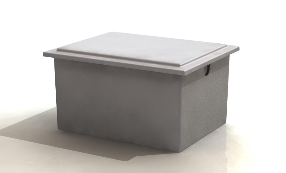 GRP Insulated One piece water tank